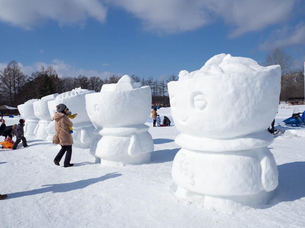 2016 いわて雪まつりin小岩井 初日の様子