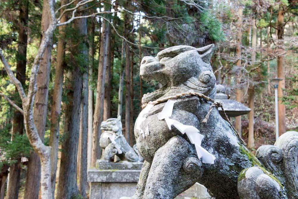 行ってビックリ!千三百年の歴史をもつ東和町にある「丹内山神社」