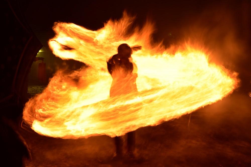 角館に伝わる伝統行事「火振りかまくら」無病息災を願って