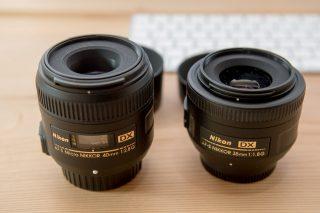 ニコンDXレンズ「35mmf1.8」を検討しているなら「Micro40mmf2.8」がおすすめ