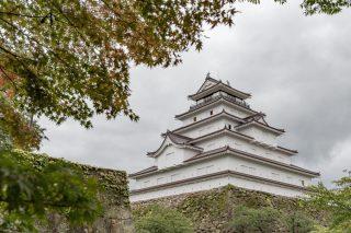 「鶴ヶ城」会津若松に来てここを見なくてははじまらない