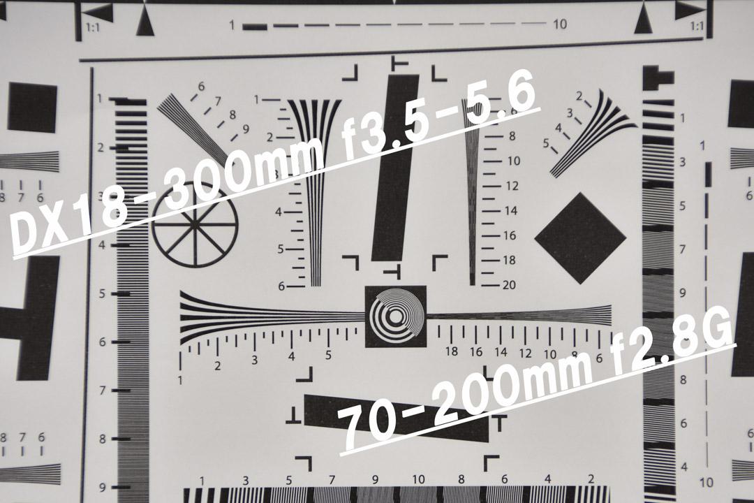ISO 12233 解像度テストチャート用紙
