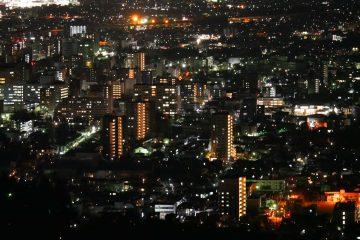 盛岡の夜景